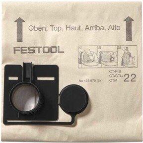 Festool 452972 Filtersack Fis-Ct 44