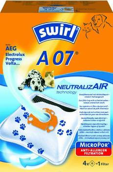 Swirl Ersatz-Staubbeutel A 07 NeutralizAir