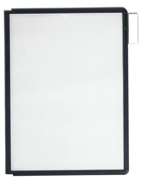 DURABLE Sichttafel A4 5 Stk. schwarz