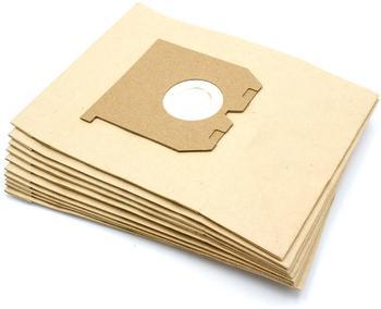vhbw 10 Papier Staubsaugerbeutel Filtertüten für Staubsauger Saugroboter Progress Blue P152A, Bolero P182B, Calypso P1662, Chic P1860B, Ciao P1625
