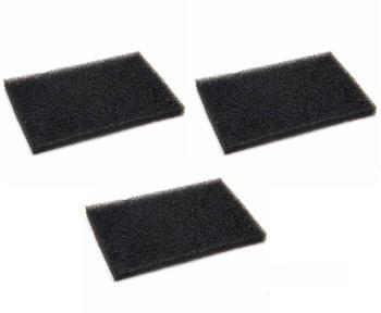 vhbw 3x Motorfilter Schaumfilter Filter wie AEF03, 900084488-7 für AEG Vampyr CE 220, CE 250, CE 27