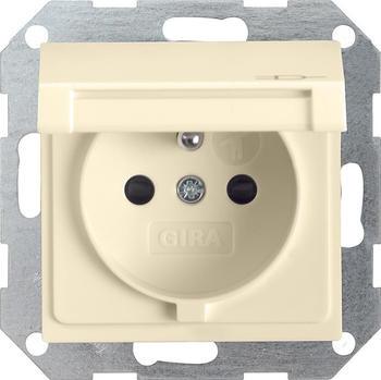 Gira 1-fach KD + SH - cremeweiß/elektroweiß glänzend (48801)