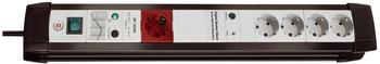 Brennenstuhl Steckdosenleiste 5-fach, schwarz 1156050955