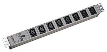 """Lindy 19"""" 8-fach IEC-Steckdosenleiste 1HE (73380)"""
