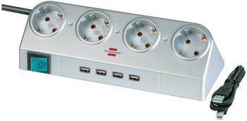 Brennenstuhl Desktop mit Schalter und USB-Hub 2.0 (1153540134)