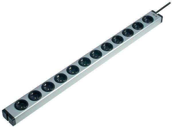 Ehmann Steckdosenleiste 12-fach, aluminium (600X00122031)