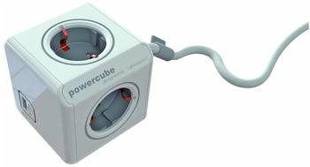allocacoc-powercube-extended-usb-type-f-1-5m-grau