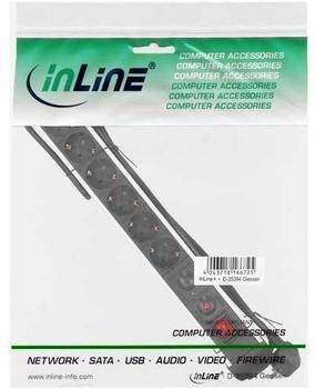 InLine Steckdosenleiste 6-fach, schwarz 16436A