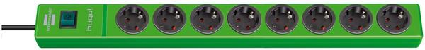 Brennenstuhl Steckdosenleiste 8-fach, grün 1150610198