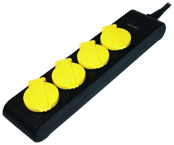 LogiLink 4-fach schwarz/gelb LPS212