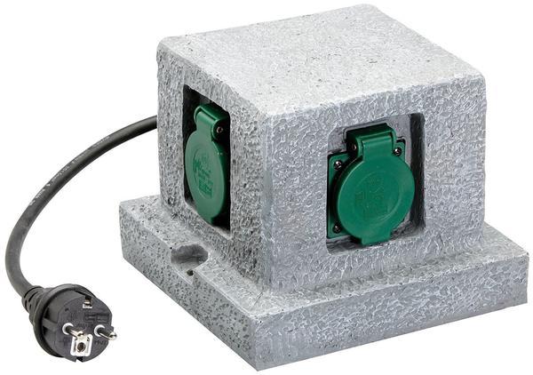 Unitec 4-fach Quader granit 44242