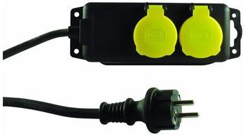 REV-Ritter 2-fach schwarz/gelb 0512467555