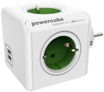 Allocacoc PowerCube Original USB grün