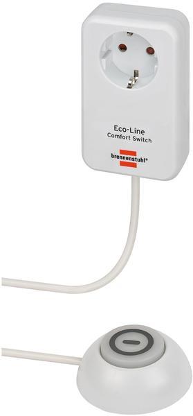 Brennenstuhl Eco-Line Comfort Switch 1-fach weiß (1508220)