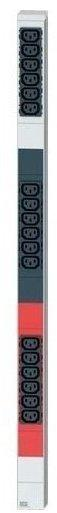 Bachmann IT-Steckdosenleiste Basic 18-fach aluminium/schwarz (800.0105)