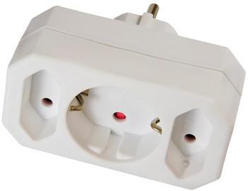 Arcas 3-fach Steckeradapter 2+1