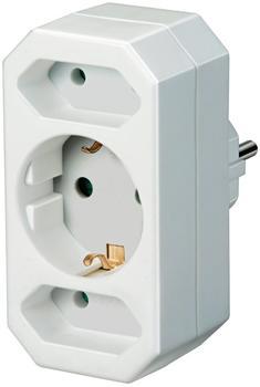 Brennenstuhl Adapterstecker Euro 2 + Schutzkontakt 1