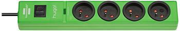 Brennenstuhl Steckdosenleiste 4-fach grün 1150611394