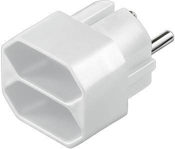Goobay Euro-Adapter 2-fach weiß (1208008)