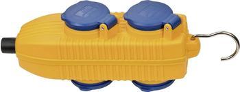 Brennenstuhl 4-fach blau-gelb (1081070010)
