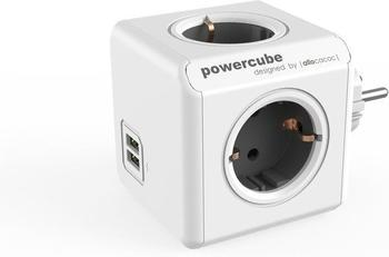 Allocacoc PowerCube DuoUSB Original grau