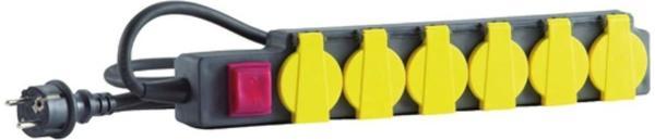 HEDI 6-fach schwarz (SLS630SF)