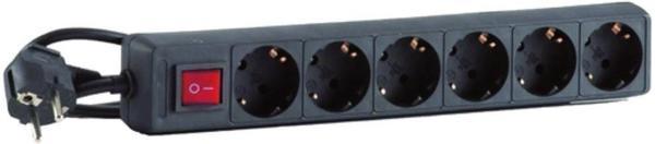 HEDI 6-fach schwarz (SLS614S)