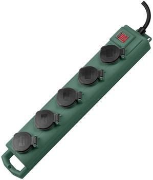 Brennenstuhl Super-Solid 5-fach grün (1159910215)