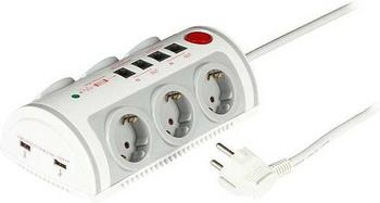 EFB Elektronik 6-fach weiß (EK610)