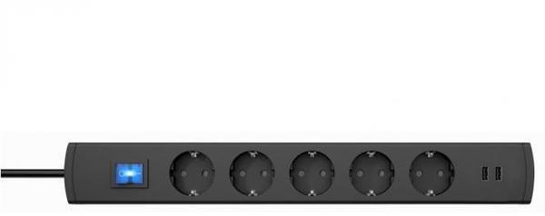 Kopp UNOversal 5-fach anthrazit (233605003)