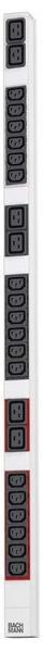 Bachmann PDU 18-fach IEC C13 6-fach C19 (333.854)