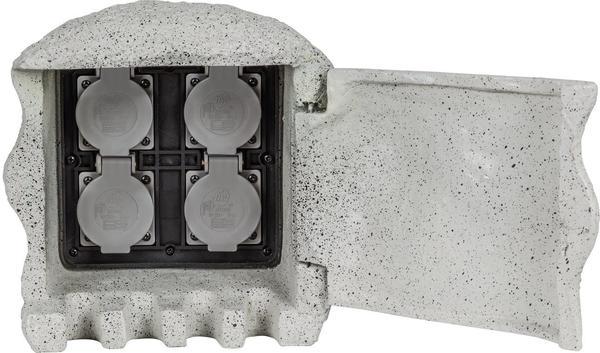 Heitronic 4-fach grau (37505)