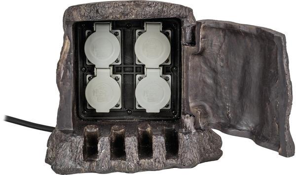 Heitronic 4-fach braun (37500)