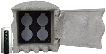 heitronic-4-fach-grau-37504