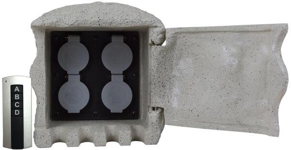Heitronic 4-fach grau (37504)