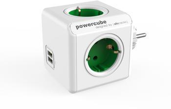 Allocacoc PowerCube DuoUSB Original grün