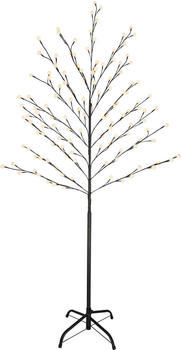GLOBO Garten LED-Baum Stehleuchte 160 cm128 LED's warmweiss