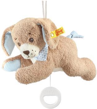 Steiff 239700 - Gute-Nacht-Hund Spieluhr 22 cm