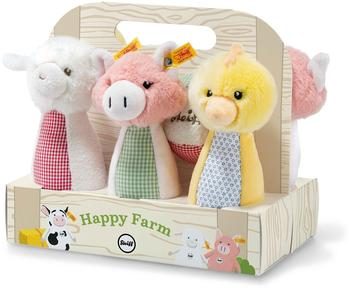 Steiff Happy Farm Kegelspielset