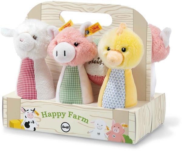 Steiff Happy Farm Kegelspielset