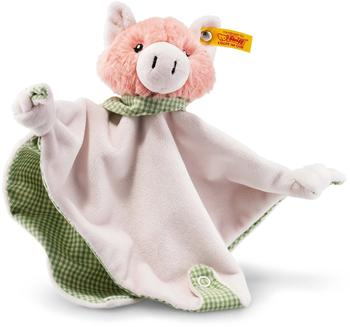 Steiff Happy Farm Piggilee Schwein Schmusetuch mit Rassel