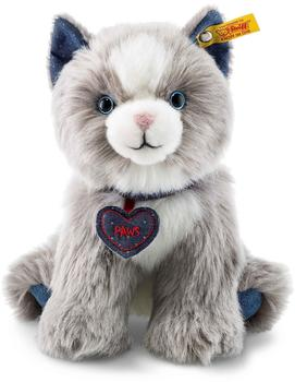 Steiff Denim Darlings - Paws Katze 21 cm