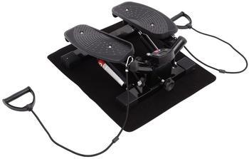 Homcom Mini Stepper Sidestepper Fitness Heimtrainer inkl. Trainingsbänder