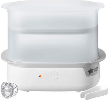 Tommee Tippee Super Steam Advanced Electric Steriliser, White