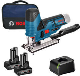 Bosch GST 12V-70 Professional (2x 4,0 Ah Akku + Ladegerät in Softbag)