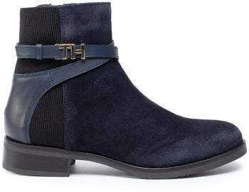 tommy-hilfiger-th-hardware-suede-flat-bootie-fw0fw04281-midnight