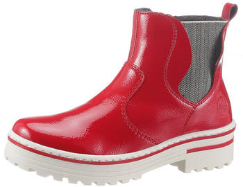 Rieker Chelsea Boots (Z8196) red