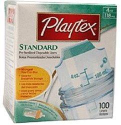 Playtex Baby Einwegbeutel 120/118 ml (100 Stück)