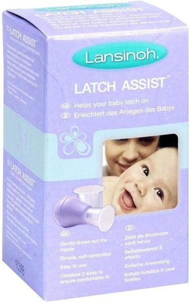 Lansinoh Latch Assist Stillhelfer (2 Trichter)