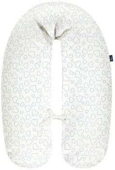 Alvi Stillkissenbezug Hearts White